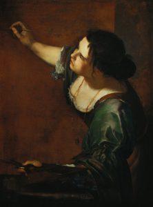 Artemisia Gentileschi - Auto-portrait en allégorie de la peinture