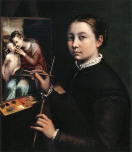 Auto-portrait de Sofonisba Anguissola