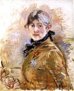 berthe morisot autoportrait